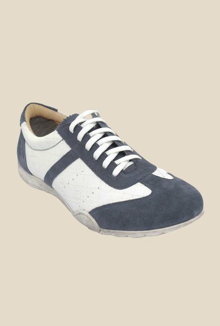 Salt 'n' Pepper Robust Navy & White Casual Shoes