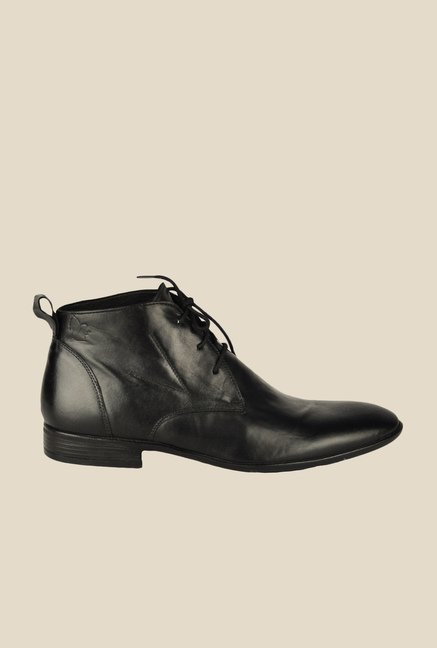 Salt 'n' Pepper Koop Black Chukka Boots
