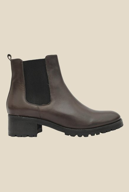 Salt 'n' Pepper Alix Brown Chelsea Boots