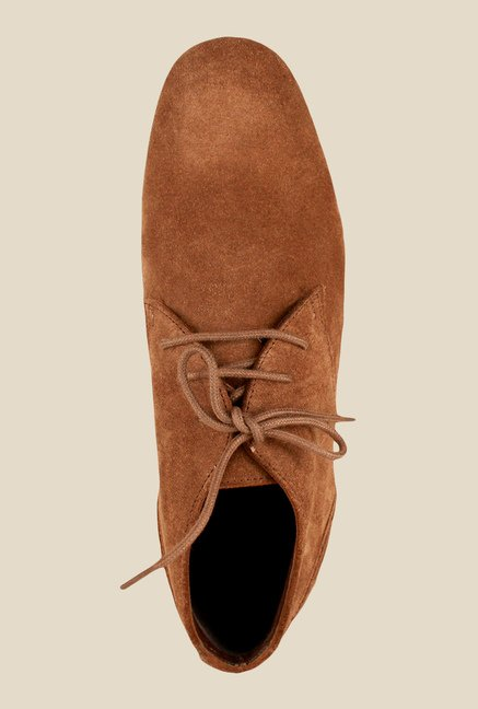 Salt 'n' Pepper Blade Tan Derby Shoes