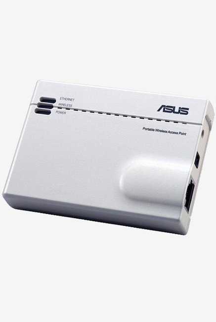 Asus WL 330GE Pocket Poratbel DSL Router (White)