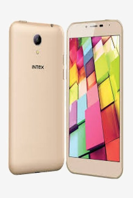 Intex Aqua 4G Smart Phone (Gold)