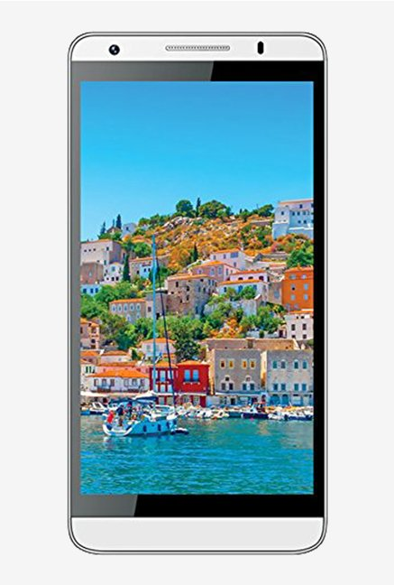Intex Cloud M6 Android v4.4.2 KitKat (White)