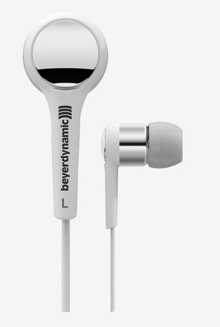 Beyerdynamic DTX 102 iE In The Ear Headphones (White/Silver)