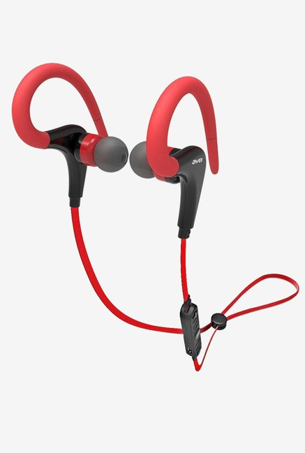 Sony Airsspu Bluetooth Headphones Sweatproof  In-ear (Red)