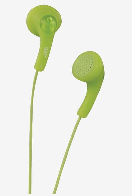 JVC HAF150G Cord-Match Headphone (Green)
