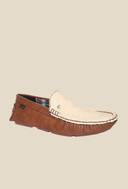 DaMochi Cannon Brown & Beige Loafers