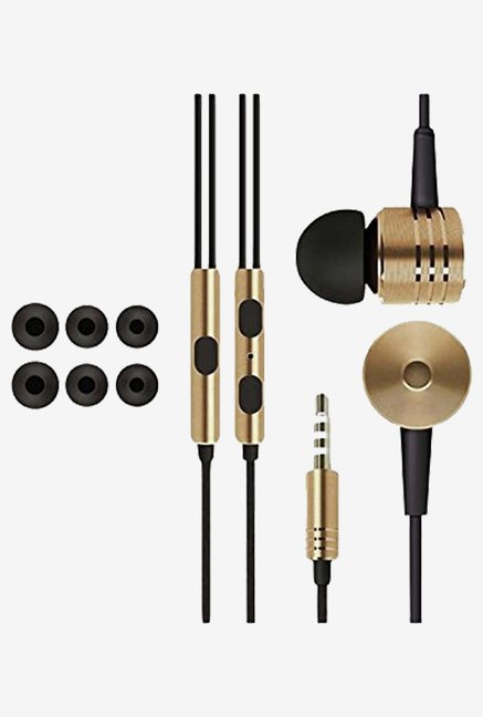 HoA SpF Piston Design Earphones (Gold)