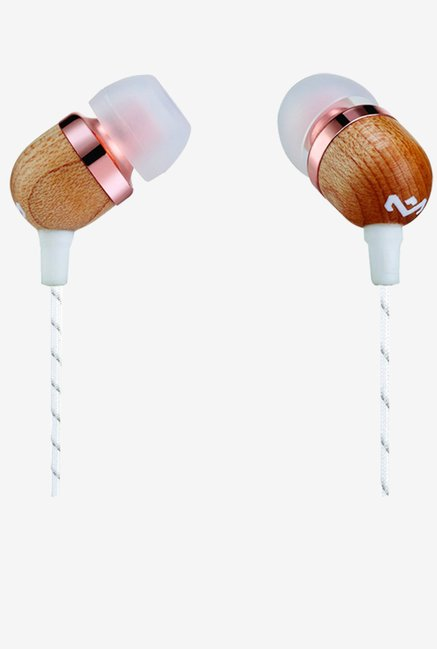 House of Marley EM-JE041-CP Smile Headphones (White)