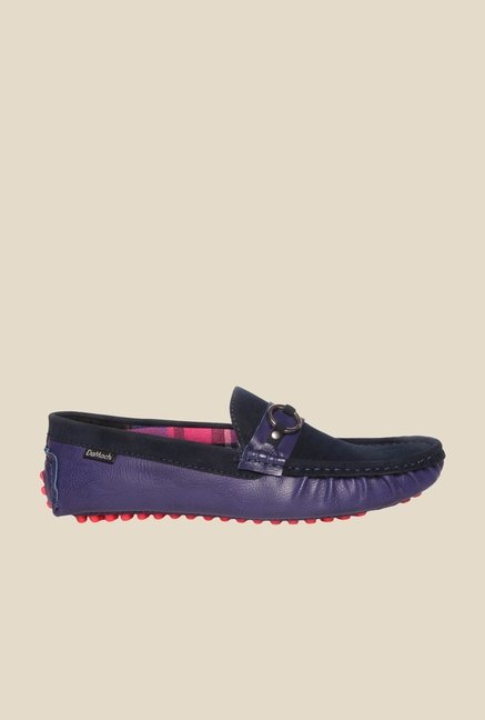 DaMochi Trevon Navy Blue Loafers