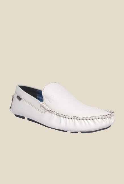 DaMochi Elite White Loafers