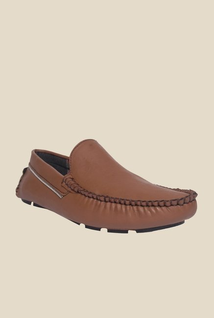 DaMochi Bonzer Brown Loafers