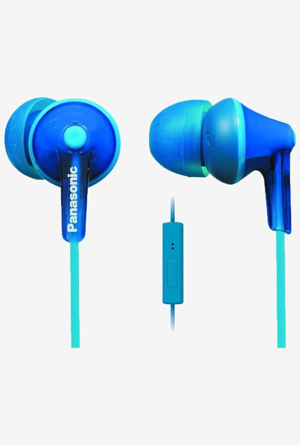 Panasonic RP-TCM125-A In the Ear With Mic (Blue)