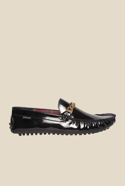 DaMochi Tobias Black Loafers