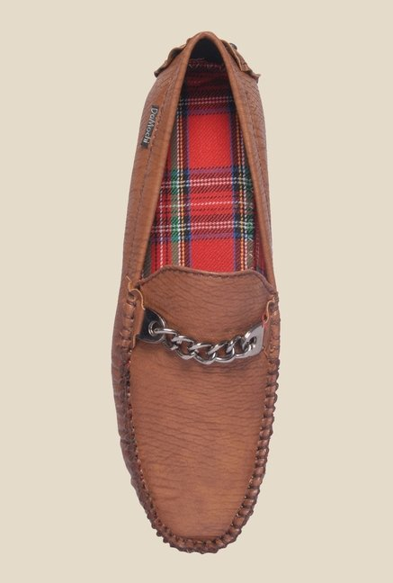 DaMochi Tobias Brown Loafers