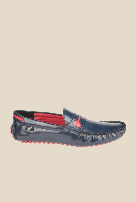 Wega Life Yoet Navy Loafers