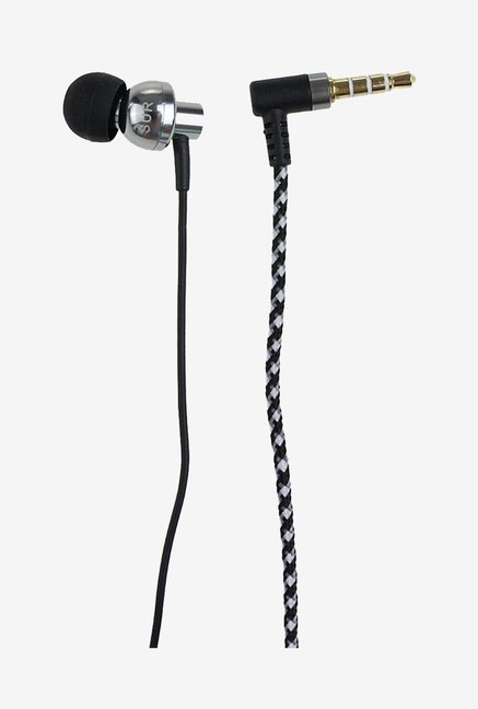 Generic HEJS-028 JBM S808 In the Ear Earphone (Silver)