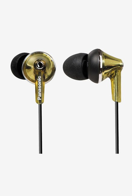 Panasonic RP-HJE190E-N In-Ear Headphone (Gold)