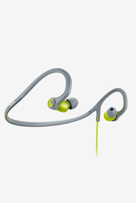 Philips SHQ4300LF/00 Sports In-Ear Headphones (Lime)
