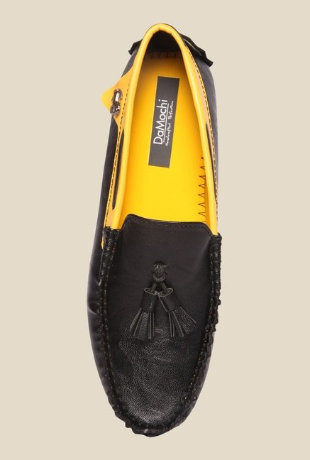 DaMochi Jason Black Loafers