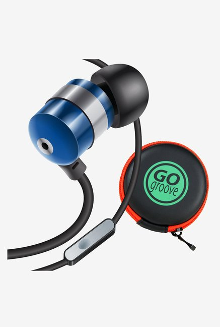 GOgroove AudiOHM HF Ergonomic Earphones Headphones (Blue)