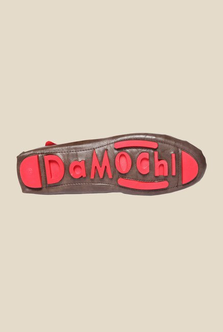 DaMochi Jason Brown & Red Loafers