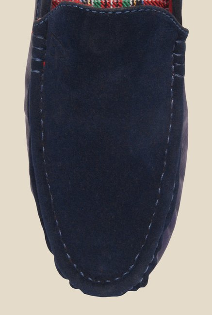 DaMochi Nash Navy Blue Loafers
