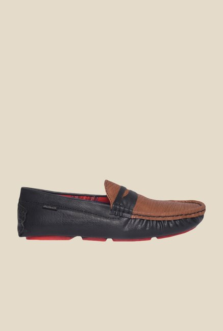 DaMochi Quintin Brown & Black Loafers