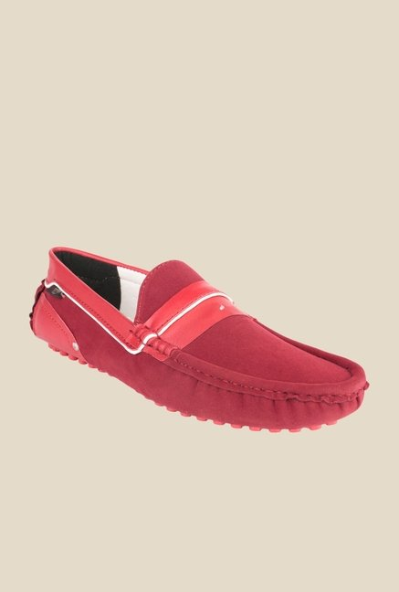 Wega Life Eliseo Red Loafers