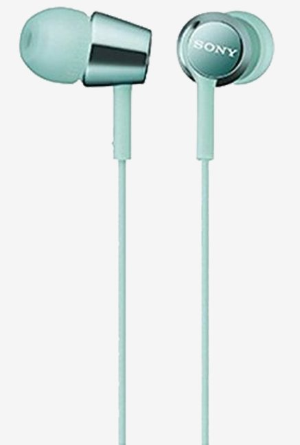 SONY Canal type Earphone mint Blue MDR-EX150 / L
