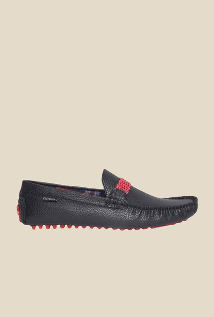 DaMochi Eugene Black & Red Loafers