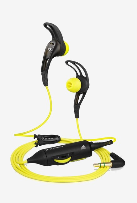Sennheiser CX 680 Earfin In-Ear Headphone (Yellow/Black)