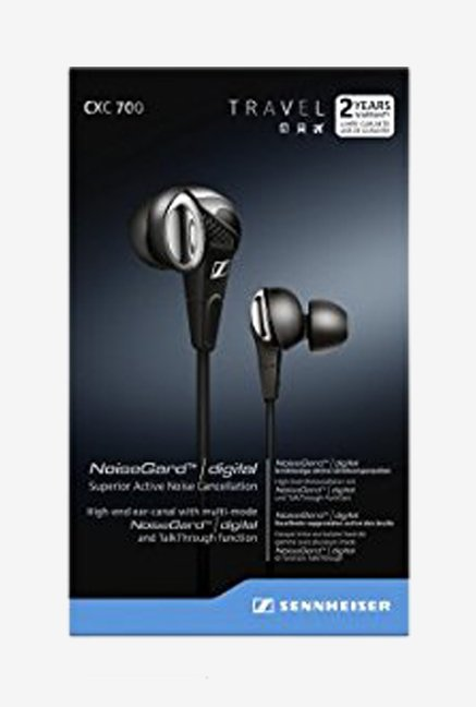 Sennheiser CXC 700 Ear Canal In-Ear Headphone with Mic (BK)