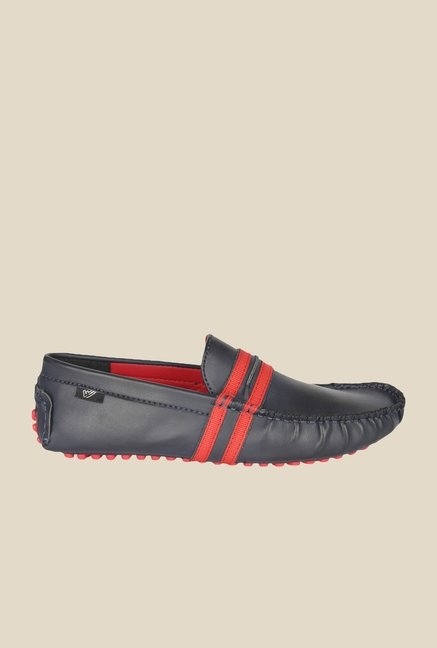 Wega Life Fusion Navy & Red Loafers
