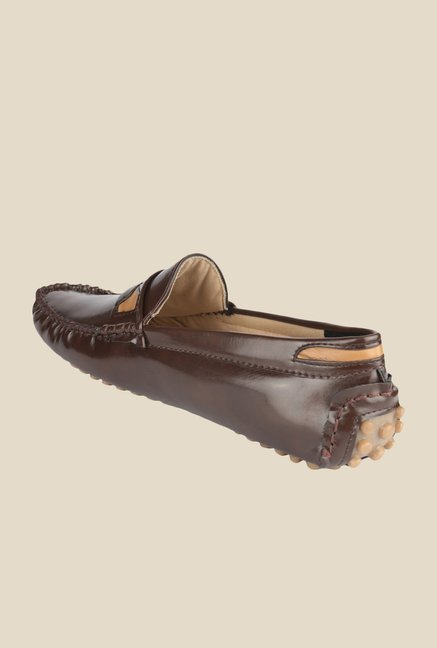 Wega Life Yoet Brown Loafers