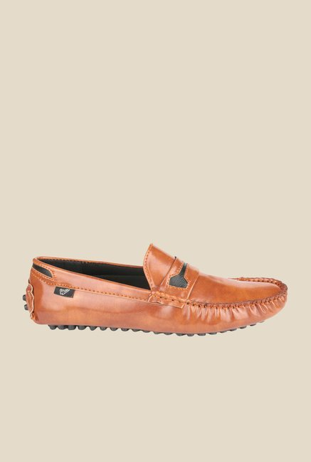 Wega Life Yoet Tan Loafers