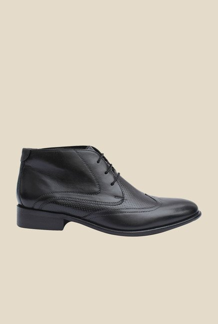 Salt 'n' Pepper Rafael Black Chukka Boots