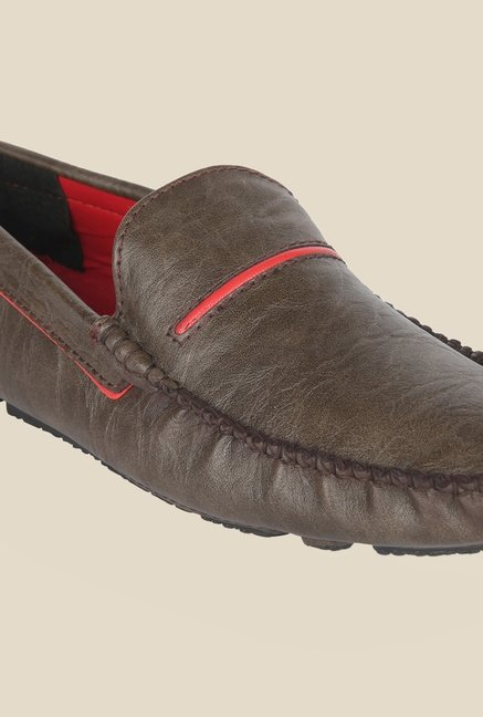Wega Life Elegant Brown Loafers
