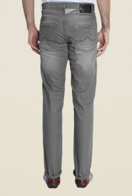 Park Avenue Grey Lightly Washed Jeans