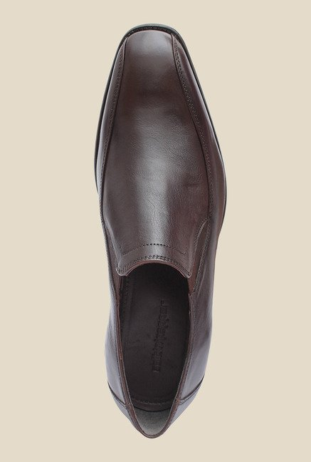 Salt 'n' Pepper Figo Brown Formal Shoes