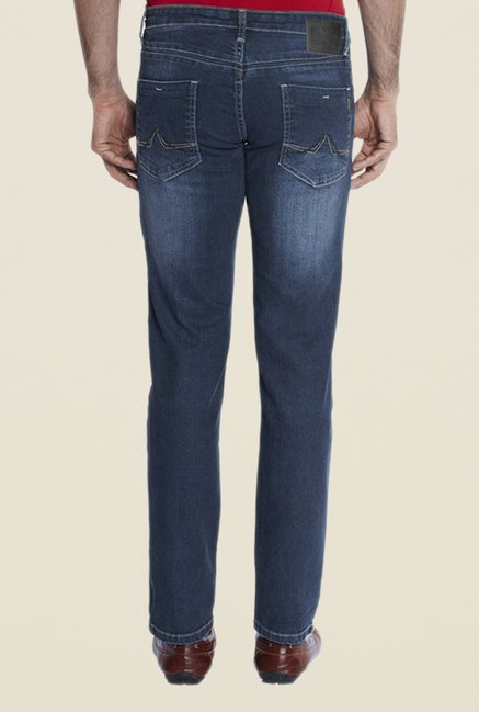 Park Avenue Blue Lightly Washed Jeans