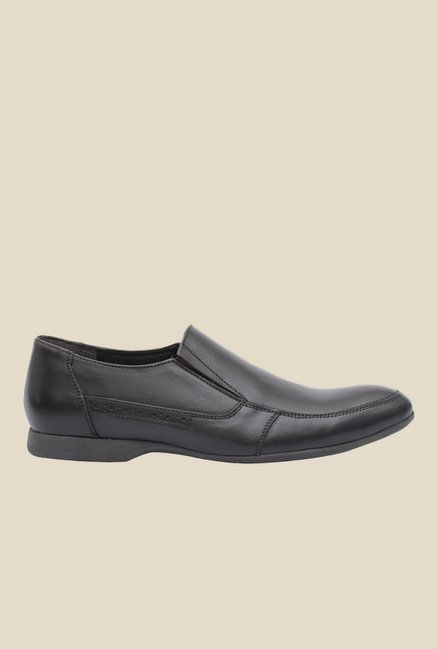 Salt 'n' Pepper Smoke Brown Formal Shoes