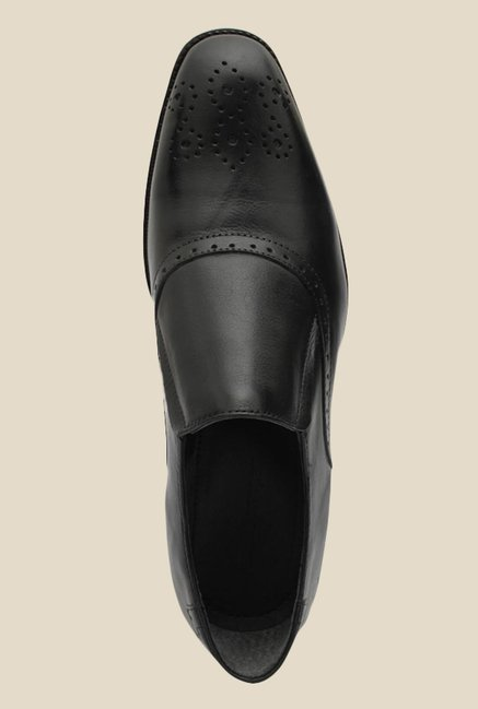 Salt 'n' Pepper Figo Black Formal Shoes