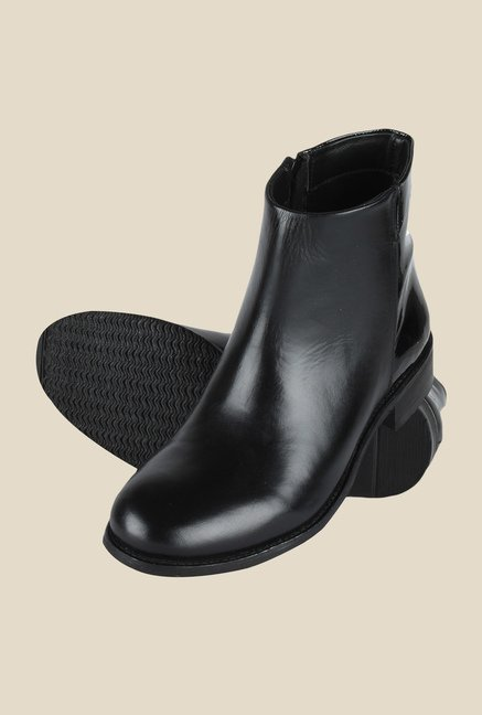 Salt 'n' Pepper Anna Black Formal Boots