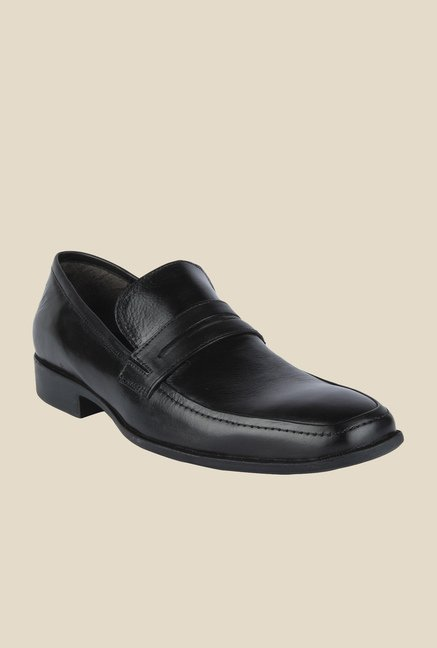 Salt 'n' Pepper Parker Black Formal Shoes