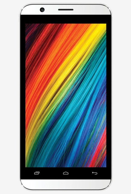 Intex Cloud Force with 8GB Internal Memory 5MP (White)