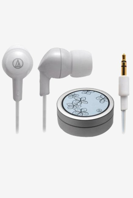 Audio-Technica ATH-CK1-PL In The Ear Earphone (White)