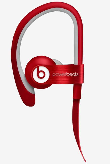 Powerbeats  900-00058-01 2 Wired In The Ear Headphone (Red)