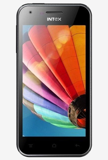 Intex Aqua Y4 With 4.5 Inch FWVGA Touchscreen (Black)