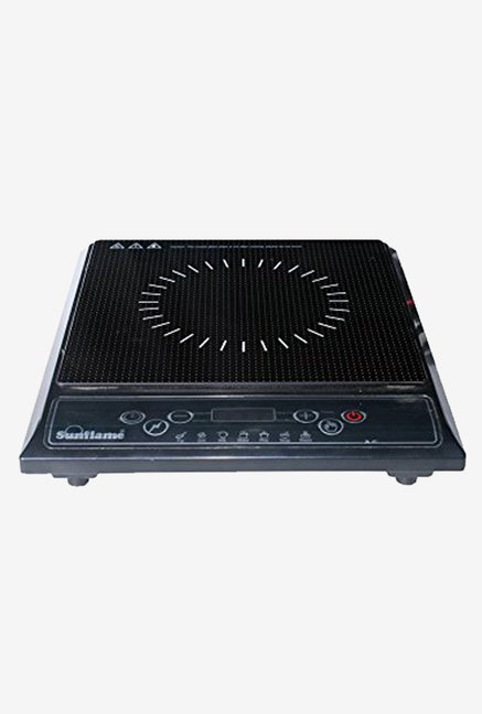 Sunflame SF-IC03 Crystal Glass Plate Induction Cooker (Black)